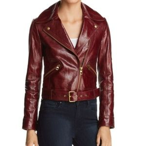 FIRM NWT Tory Burch Cropped Motorcycle Jacket